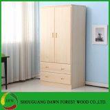 Wardrobe de madeira da HOME do gabinete do projeto simples
