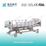 Acero inoxidable Semi-Fowler médica Manual de la cama para niño (D-6)