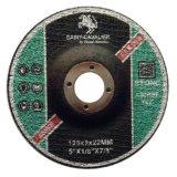 Rodas de Arasive, cortando as rodas para Inox 5 ' x1/8'x7/8