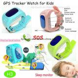 Relógio móvel do perseguidor esperto do GPS dos miúdos com função do SOS (H3)