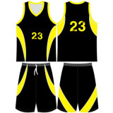 Sports Basketball Jersey maille polyester uniformes