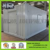 20FTのドアが付いている白く特別な発電機の電気の容器