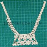 Collare del merletto del ricamo degli accessori del vestito dal Neckline della tessile del tessuto di cotone dei vestiti
