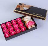 Коробка подарка цветка дня Valentine Saint