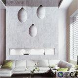 Carrelage de marbre de feuille de PVC de cliquetis