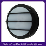 LED 원형 Moonhalf 모양을%s 가진 알루미늄 방수벽 램프