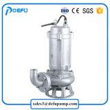 Pompa sommergibile della taglierina dei residui dell'acciaio inossidabile per la grande particella