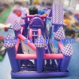 De commerciële Opblaasbare Uitsmijter van de Sprong van het Kasteel/de Opblaasbare Trampoline van de Uitsmijter van de Lucht met Dia