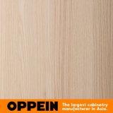 Garderobe van de Schommeling van de Melamine van de Lak van Oppein de Moderne Witte Houten (YG91550)
