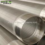 El filtro de agua del tubo de pantalla cables alargados para perforar con filtro/.