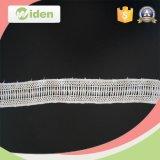 Tela de lujo soluble en agua del cordón del guipur 5 yardas de cordón del producto químico