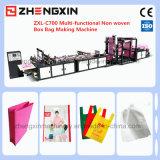 Saco de compra não tecido que faz a máquina Zxl-C700