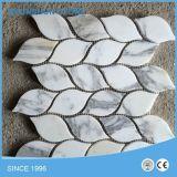 Mármol blanco popular Ariston azulejos de mosaico para piso / revestimiento de la pared