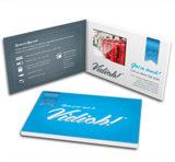"""Cartolina d'auguri dello schermo dell'affissione a cristalli liquidi di alta qualità 4.3 """" video"""