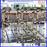 De hete Fabrikant van het Systeem van de Rekken van de Pijp van de Verkoop Plastiek Met een laag bedekte van Nanjing