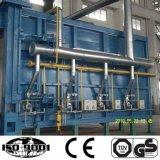 Horno de gas estupendo del tratamiento térmico de la Coche-Parte inferior de la capacidad