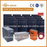 el sistema eléctrico solar de la apagado-Red 5000W es fuente para la isla de la meseta y un área montañosa alejada