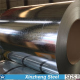 0.125-6.0mm Dx51dの鋼鉄材料によって電流を通される鋼鉄コイル