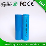 Nieuw Li-Ion 18650 Navulbare Batterij 3.7V 2000mAh voor Flitslicht
