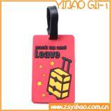 Etiqueta conocida del silicón del equipaje de encargo del PVC para los regalos de la promoción (YB-LY-LT-01)