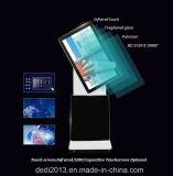 65 pulgadas 4K LCD todo en una PC TV con el jugador publicitario múltiple del tacto infrarrojo
