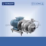 Pompe auto-amorçante sanitaire de la vente chaude solides solubles 304/316L avec le moteur d'ABB (CIP-05)