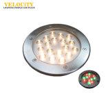 IP68 9W/18W 수영풀을%s 고품질 RGB 크리 사람 LED 수중 빛