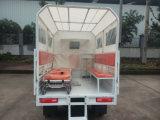 Nuovo triciclo della cabina dell'ambulanza