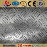3003 H32 el patrón de la cáscara de naranja de la bobina / placa de aluminio