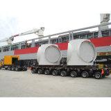Drehwellen-Transport-Stahlrohr Lowbed Schlussteil