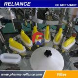 La dependencia de tubo automática de 1ml de sangre de la máquina de llenado, viales de 0,5 ml de llenado de líquido maquinaria taponadora