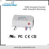 52W el Controlador de LED de corriente constante con Triac/atenuación ELV