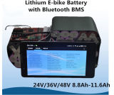 36V 11,6 ah Pack de batterie au lithium avec Bluetooth BMS