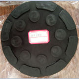 Zylinder-Gummi blockt Auflagen für Auto-Laufkatze Jack Adpter