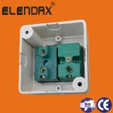 Переключатель стенной розетки меди ABS Индонесии электрический (S2019)