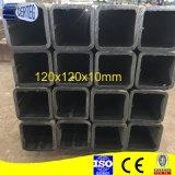 Precio del tubo del acero de carbón de Q345B 120X120X10m m