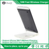 caricatore senza fili veloce del telefono mobile del basamento 5With7.5W per il iPhone 8/8 di Plus/X