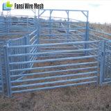 牛畜舎は家畜のパネルにパネルをはめる