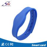 Kundenspezifisches Armband des Silikon-RFID für Gymnastik-Mitte