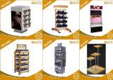 Fußboden-kleidet hölzerne Shampoo-Karosserien-Wäsche Powerbank Bildschirmanzeige-Zahnstange mit Grafik für Supermarkt
