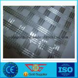 Fibra di vetro Geogrid biassiale Composited con il geotessuto del poliestere