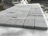 溶岩の石10X20X3cmの転倒を舗装する灰色の煉瓦