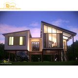 Casa del panel prefabricada de emparedado del diseño moderno