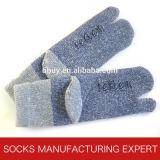 Носок пальца ноги шерстей 2 зимы людей