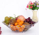금속 부엌 목욕탕 철사 격판덮개 저장 전시 과일 바구니 선반