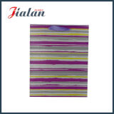 Colores de alta calidad Hot Stamping bolsa de papel con asa de nudos