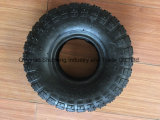 3.50-4 Gomma di gomma della rotella del camion di mano con l'orlo d'acciaio, pneumatico della carriola