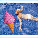아이스크림 큰 팽창식 수영장 부유물