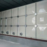 Вид в разрезе FRP резервуар для хранения воды фильтр FRP резервуар для воды