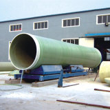 Light Weight Liking Pipe GRP Pipe Toilets Suppling Pipe